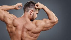 Trapezius and back muscles
