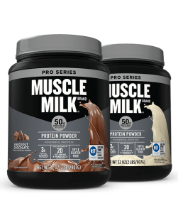 Muscle milk pro series powder