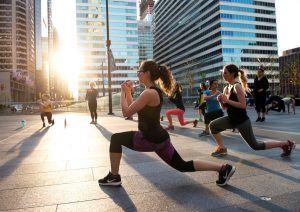 Dilworth Park's Free Outdoor Workout
